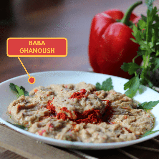 Charred Baba Ghanoush