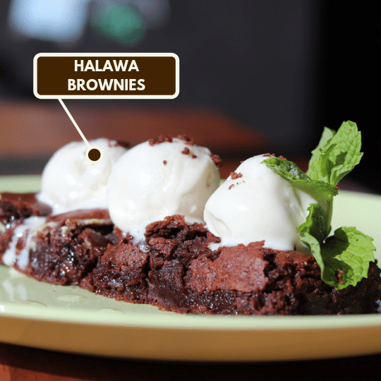 Halawa Brownies