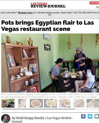 Las Vegas Review-Journal Article - Vegan, vegetarian restaurants popping up in Las Vegas Valley
