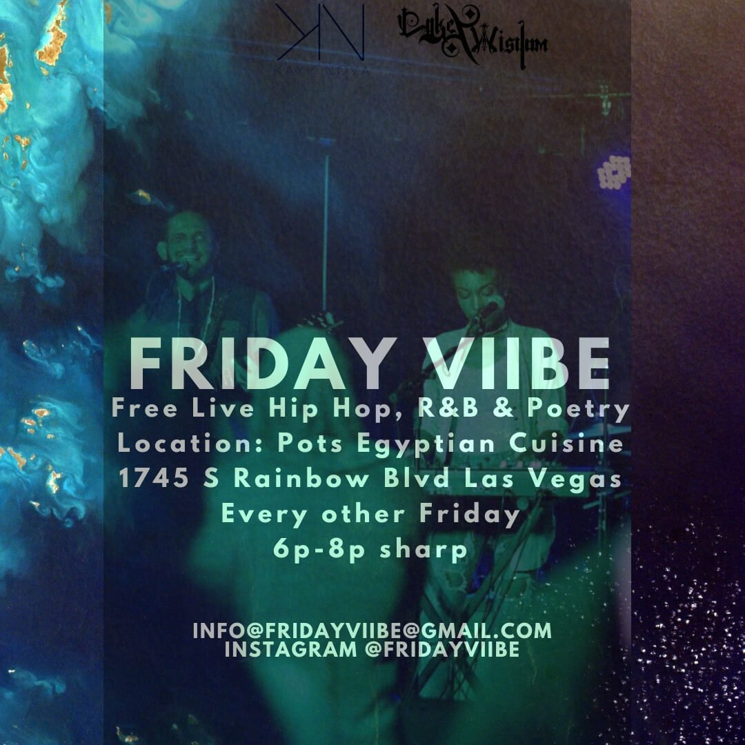 Friday Viibe Flyer - Live music in Las Vegas every other Friday at POTs Resturant