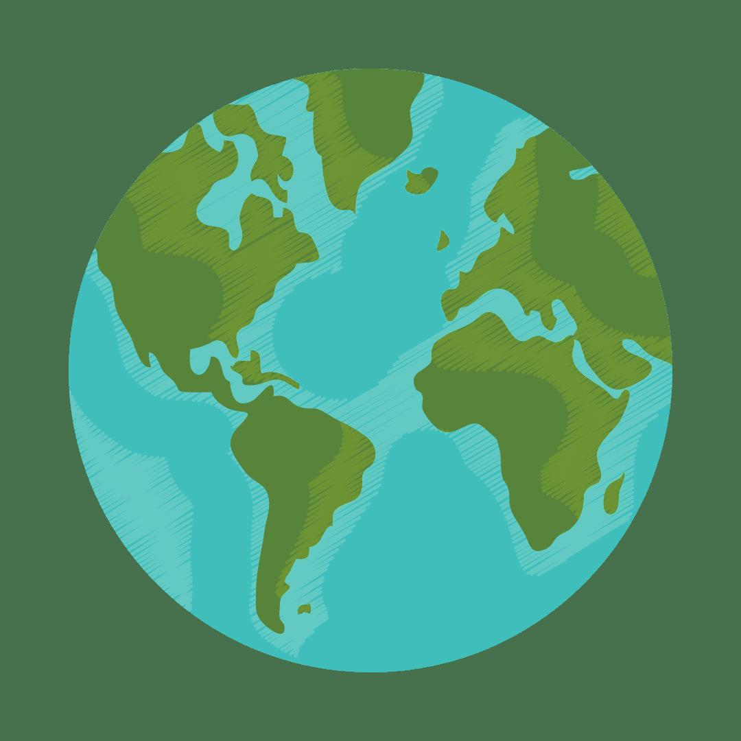 Earth Globe - Earth Hour