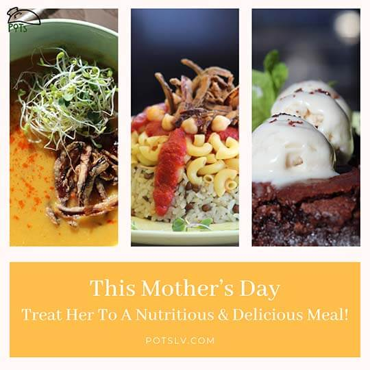 Mother's Day - Treat her to a nutritious and delicious dinner. E-Gift Card Sale