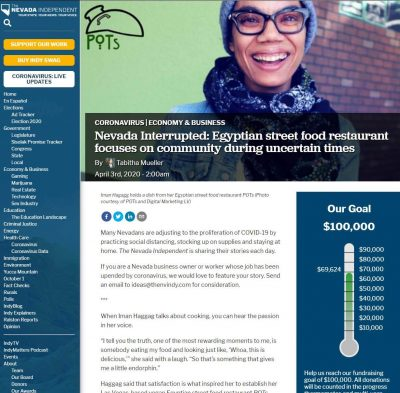 Nevada Interrupted: Egyptian street food restaurant focuses on community during uncertain times