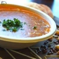 B3iny (be-ai-knee) Harira Moroccan Soup