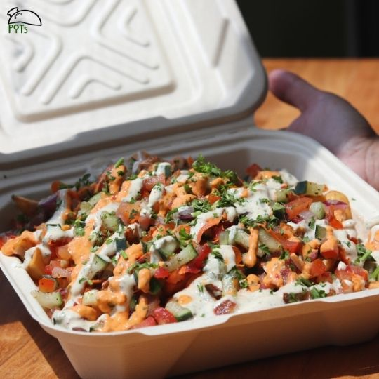 Egyptian Loaded Fries