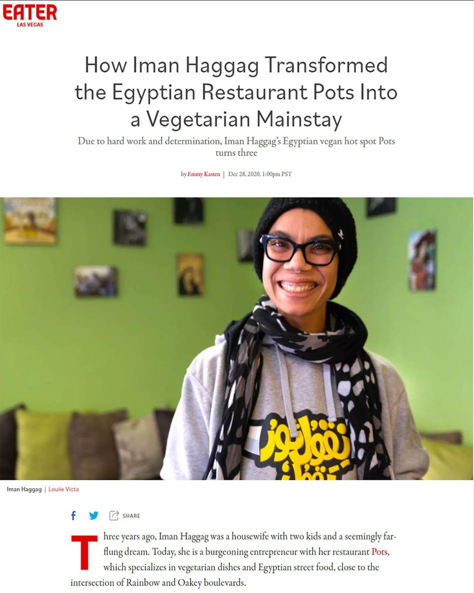 How Iman Haggag Transformed the Egyptian Restaurant Pots Into a Vegetarian Mainstay