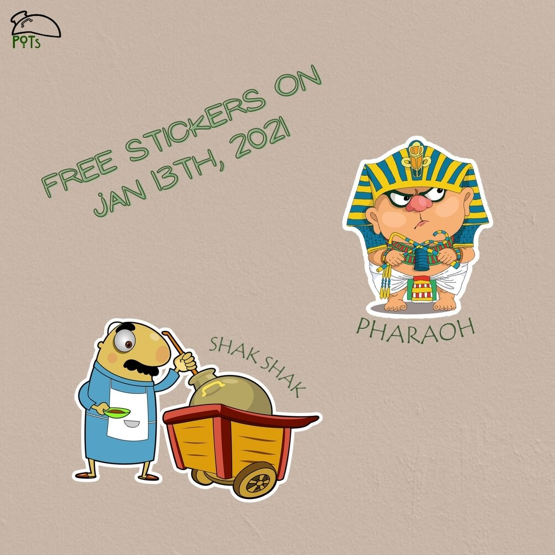 Sticker Day 2021 at POTs