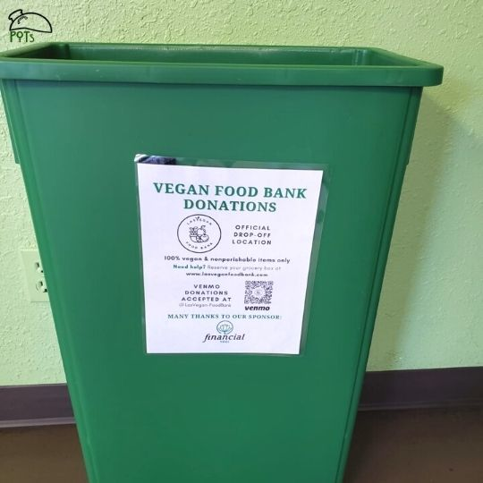 Vegan Food Bank
