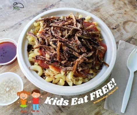 Kids Eat Free - Koshari